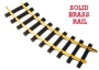 G Scale 4' Curved Track/12pc