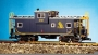 G Scale Ext.Vision Caboose Chessie/blu