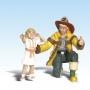 G Scale Fireman Bill & Betsy