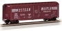 HO 40' PS-1 Boxcar Western Maryland  #25124 Speed Lettering