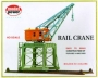 HO Scale Rail Crane