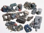 HO Scale Assorted Junk Piles