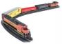 HO Scale BNSF GP40 Diesel Rail Chief Set