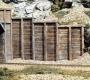 HO Timber retaining/wing walls