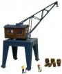 N Scale Built Up Rail Crane