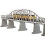 O 2-Track Steel Arch Bridge/silver