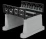 O Scale Black O 2-Track Bridge Girder
