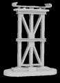 O Scale Elevated Subway Trestle Set/8pc