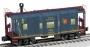 O Scale Polar Railroad I-12 Caboose