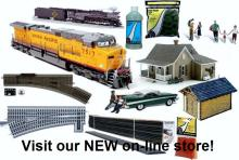 model trains hobby shop